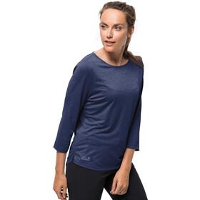 Jack Wolfskin JWP T-paita Naiset, lapiz blue